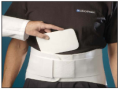 "8"" Back Support with Anterior & Posterior Inserts"